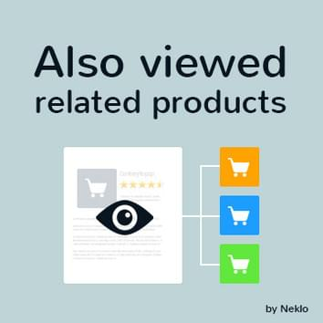 Also Viewed Related Products Widget