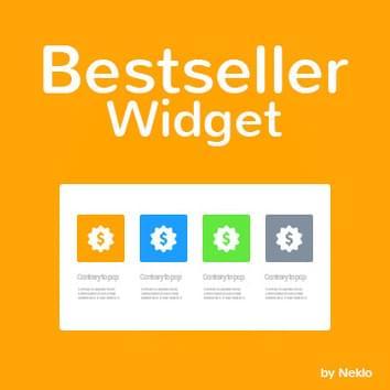 Bestseller Widget