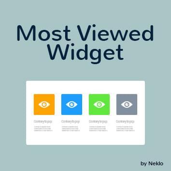 Most Viewed Widget