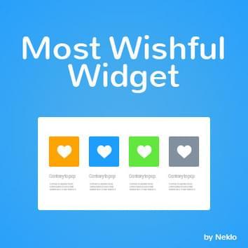 Most Wishful Widget
